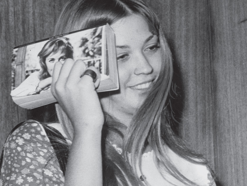 Barbara Hoyt after she fled the Family and testified against Manson despite death threats