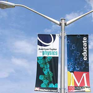 What Happens To Those Streetlight Pole Banners Like The