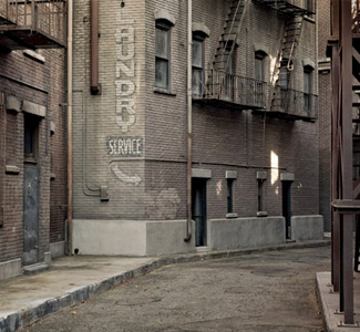The New York Street Backlot