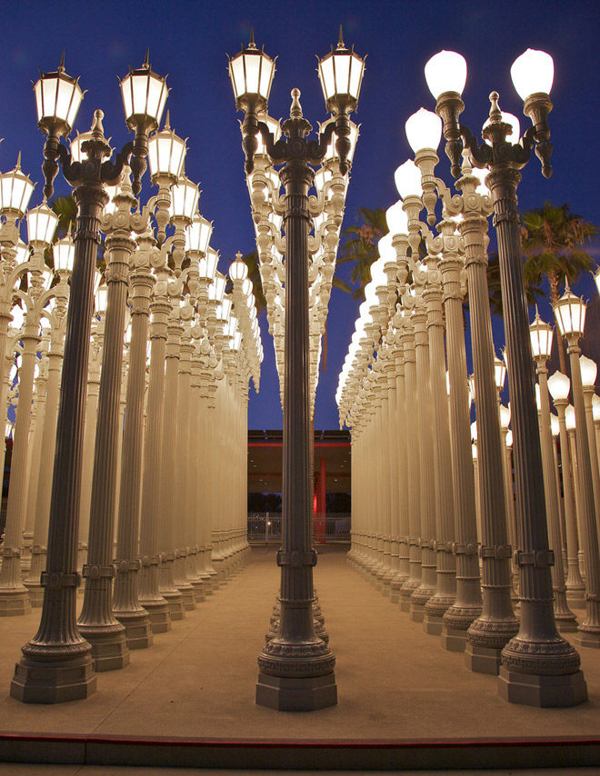Urban Light In Pictures Los Angeles Magazine