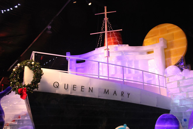 Photo courtesy of the Queen Mary