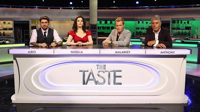 the-taste-abc-ludo-bourdain-malarkey-nigella