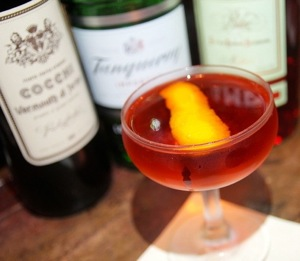 """Modern"" Negroni at the Roger Room"