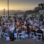"Sunsets at the Heal the Bay fundraiser, ""Back to the Beach, May 17, 2013"