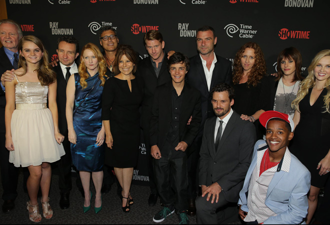 Showtime premiere of new drama series Ray Donovan presented by T