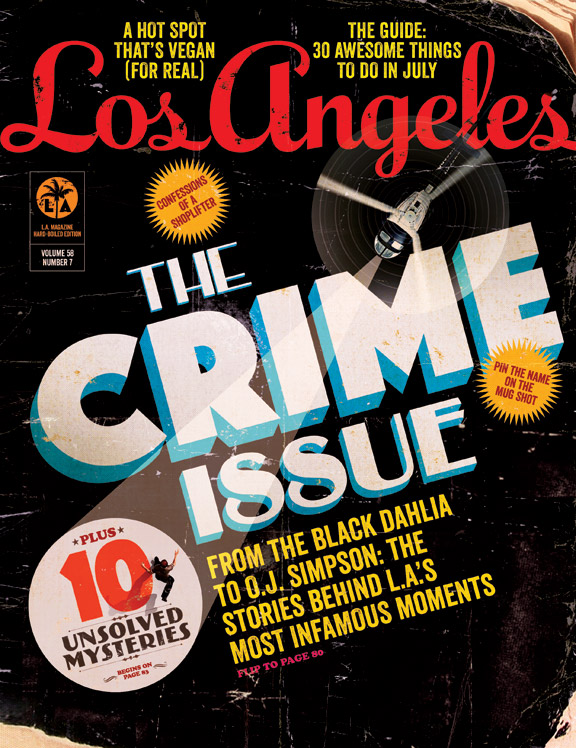 Los Angeles magazine - July Cover