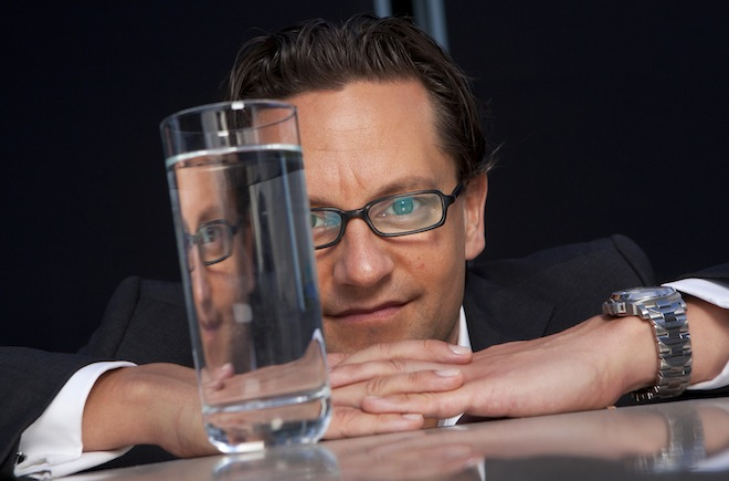 JERK MARTIN RIESE world-renowned water sommelier from Germany