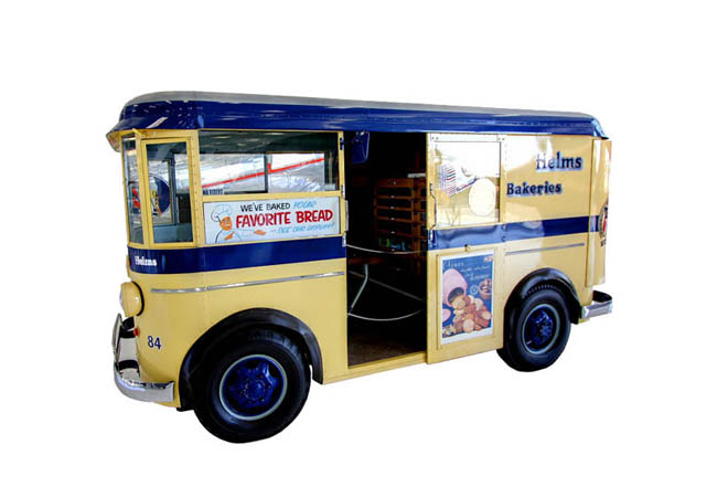 Vintage Helms Bakery Truck Needs A Home