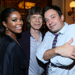 Gabrielle Union, Mick Jagger, Jimmy Fallon