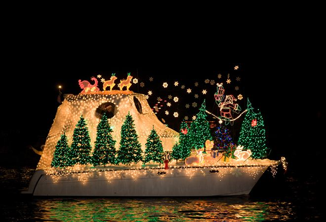 41st Annual Dana Point Harbor Boat Parade of Lights kicks off tonight at 7:30pm