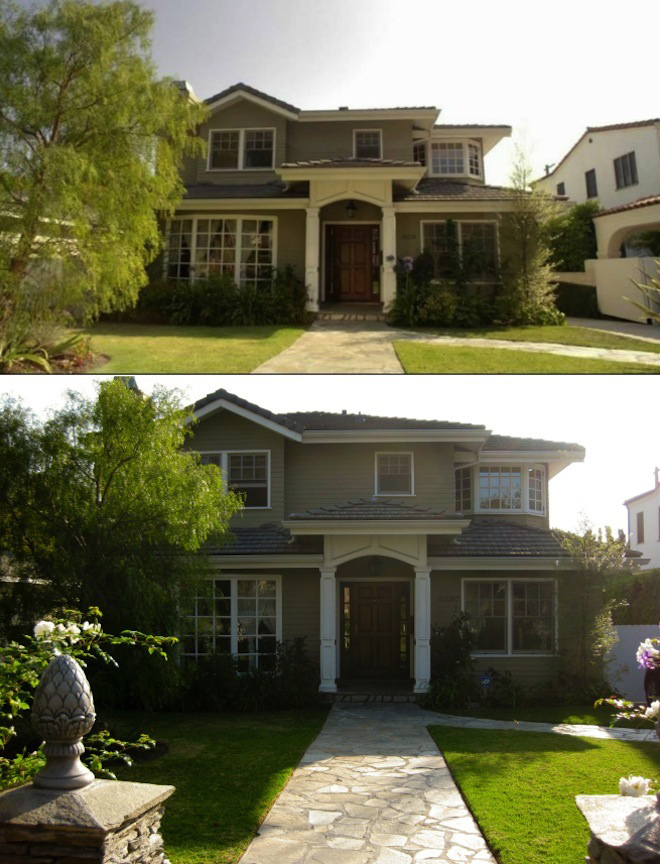 Scene it before the dunphy house from modern family for Modern family dunphy house decor