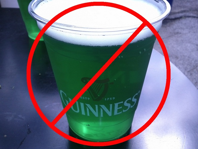 no-green-beer