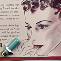 Vintage Powder Room: Avon Lipstick-Sample Card - Los Angeles Magazine