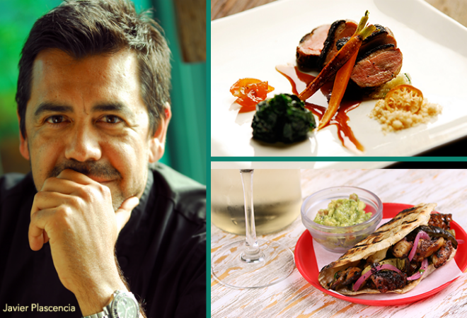 Javier Plascencia was a guest chef at Loteria Grill's Hollywood and Santa Monica locations in June.