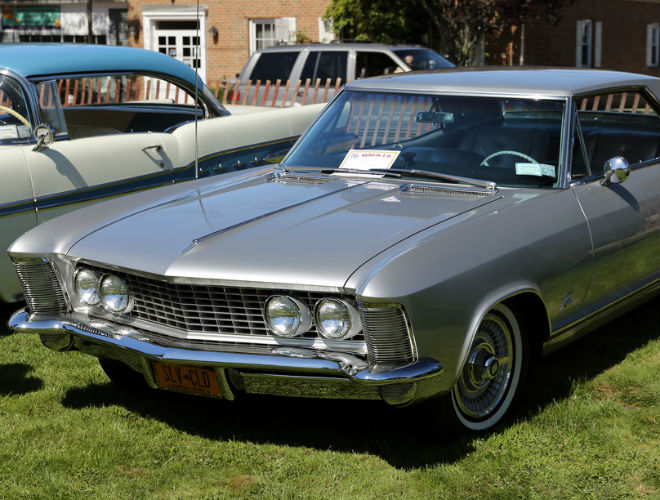 1963: The 1963 Buick Riviera was unveiled on October 4, 1962. It was unusual in that it did not share its bodyshell with any other model