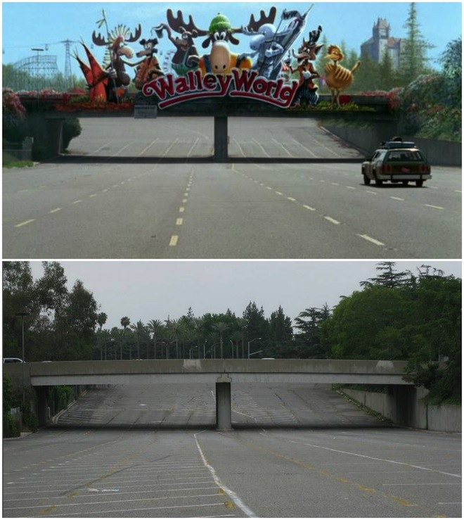 "Scene It Before: The Walley World Entrance From ""National"