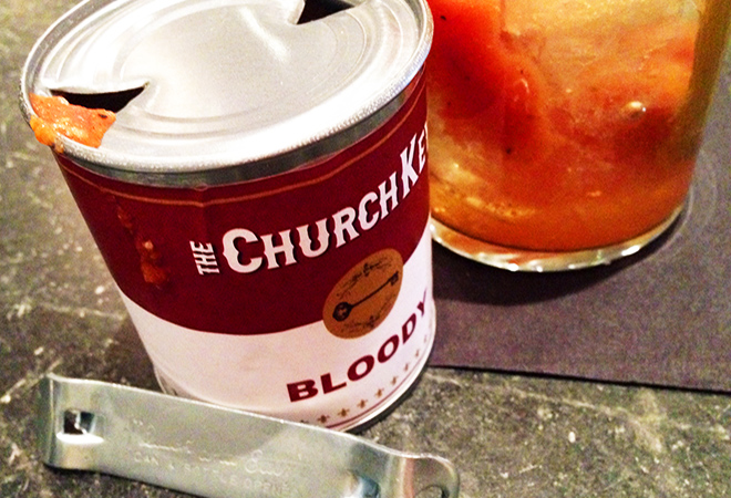 The Church Key's Bloody Mary in a can