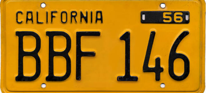 ... size for license plates for automobiles at six inches by twelve inches with standardized mounting holes and set a 6-digit registration number format.  sc 1 st  Los Angeles Magazine & The Colorful History of California License Plates Los Angeles Magazine