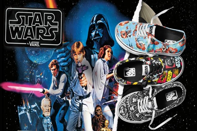 Check out some of our favorite looks from the Vans x Star Wars collection by clicking through this album!