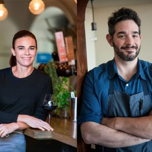Suzanne Goin (a.o.c.) and Jeremy Fox (Rustic Canyon)