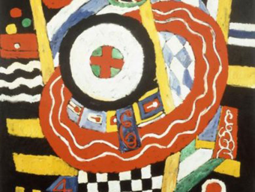 Marsden Hartley, The Iron Cross, 1915