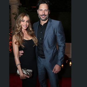 Sofia Vergara and Joe Manganiello at CAA