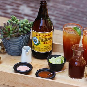 DIY Michelada kit at Fifty Seven