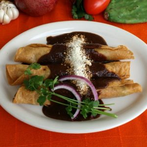 Flautas at La Casita
