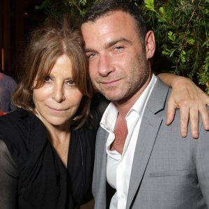 Executive Producer Ann Biderman and Liev Schreiber at the season 2 premiere