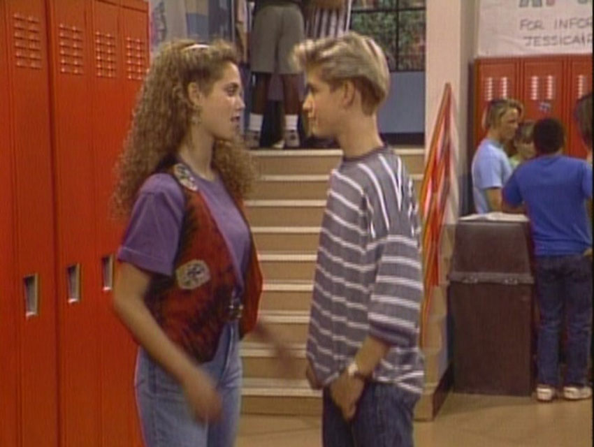 "A screen grab from ""Saved by the Bell"""