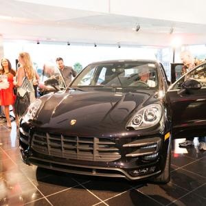 The all-new Porsche Macan just after the reveal