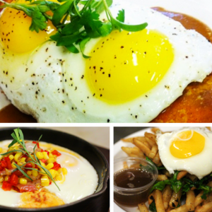 New brunch dishes at Beer Belly