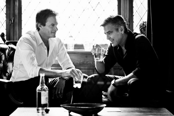 George Clooney and Rande Gerber