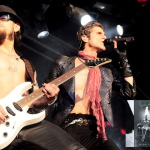Dave Navarro and Perry Farrell of Jane's Addiction perform at the 2010 Soundwave Festival in Perth
