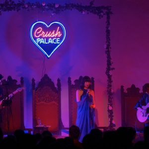 "Karen O Performs ""Crush Songs"" at Hollywood Forever"