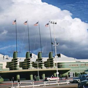 The Pan Pacific Auditorium in 1962.