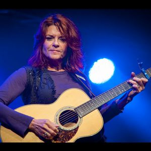 Rosanne Cash performs