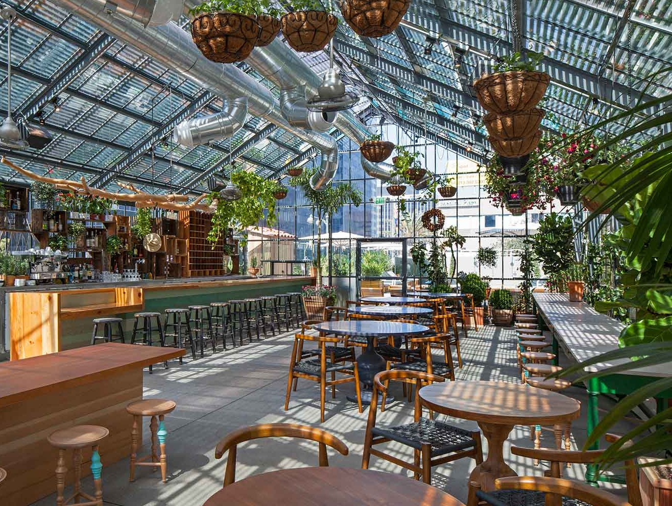 The Line Hotel Los Angeles the deal with roy choi's commissary, now open at the line hotel