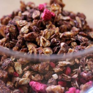 Need something new in your bowl this year? Go with local granola from purveyors like Granola Mama.