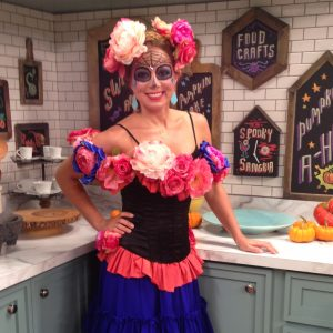 Chef Marcela Valladolid has a special treat for Dia de Los Muertos.