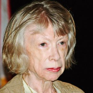 Joan Didion at the 2008 Brooklyn Book Festival