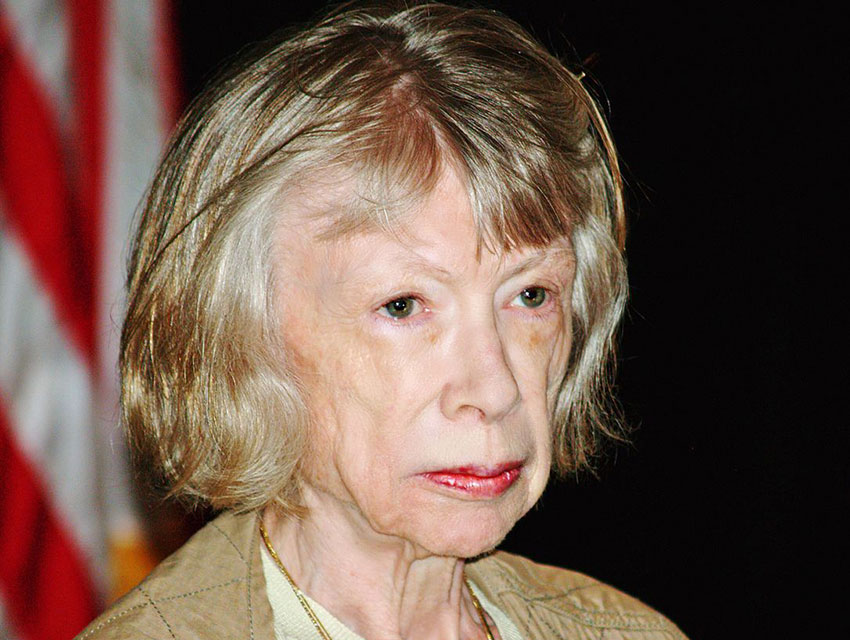 Joan Didion at the 2008 Brooklyn Book Festival i