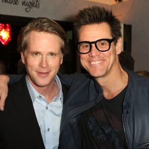 Cary Elwes and Jim Carrey