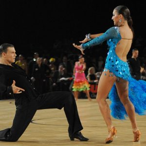 A paso doble in the Austrian Open Championships Vienna, 2012