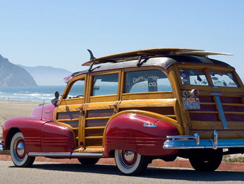 How Surf Culture Caught The Woodie Bug Los Angeles