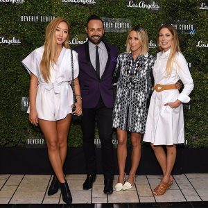 Event Hosts: Dani Song, Nick Verreos, Jacey Duprie and Los Angeles magazine's Style Editor Linda Immediato