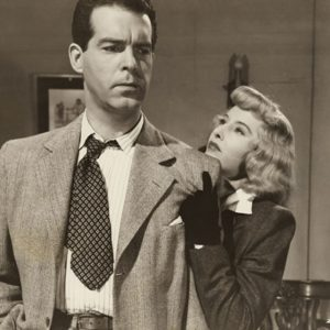 Fred MacMurray and Barbara Stanwyck in the 1944 film Double Indemnity
