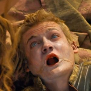 Joffrey dying on Game of Thrones