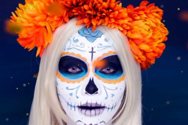 michelle Phan Day of the Dead