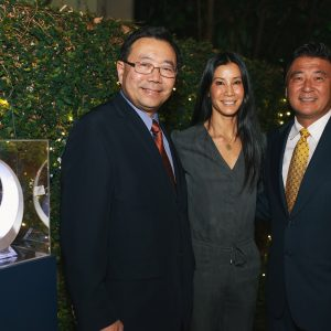 The selection committee: Stewart Kwoh, Lisa Ling, James Ryu